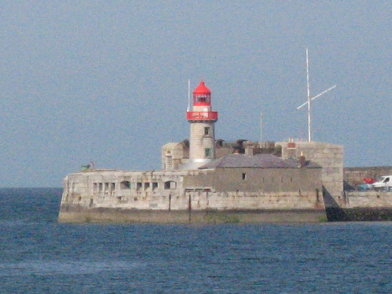 Lighthouse on East Pier of Dun Laoghaire Harbour