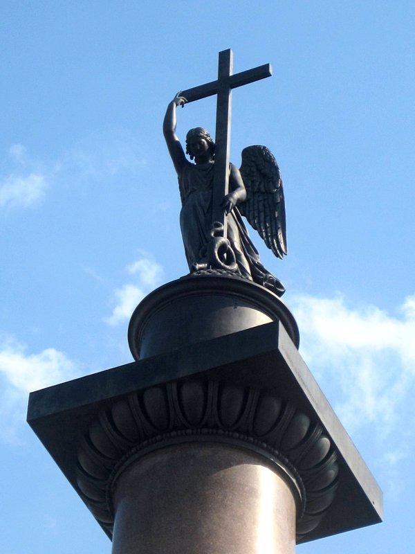 Александрийский столп Александровская колонна Дворцовая