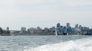 A view from a Sydney Ferry